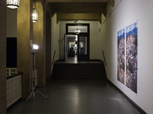 Chris Drange, Christoph David Drange, Hecho En Socialismo, Wimmelbild, group exhibition, HFBK, Jahresausstellung
