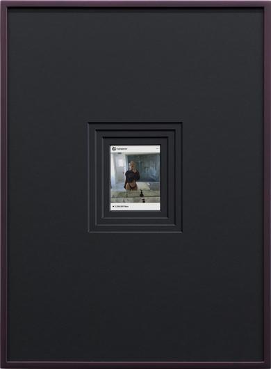 RELICS; KYLIE 2.258.397 LIKES; © Chris Drange, Kylie Jenner, Instagram, selfie, art, appropriation, influencer, follow, follower, comment, emoji, beauty, worship, photography